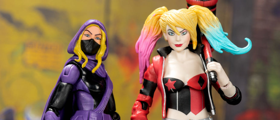 DC Multiverse Harley Quinn and Spoiler Gallery