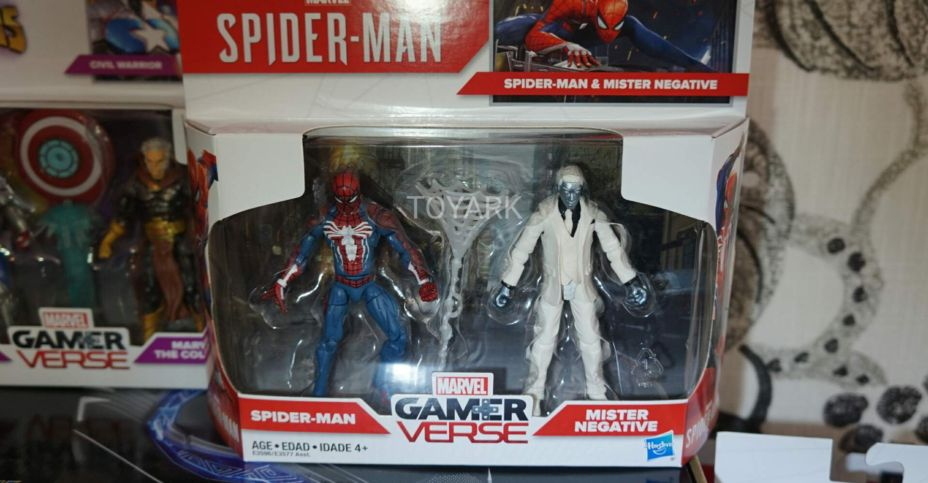 Spider-Man Into the Spider-Verse Marvel/'s Prowler 6 inch Action Figure