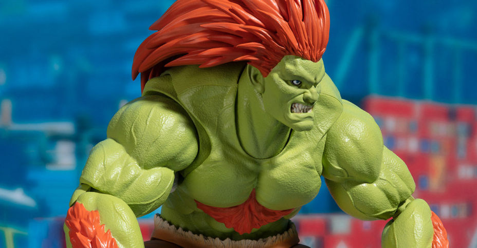 SH Figuarts Street Fighter Blanka - The Toyark - News
