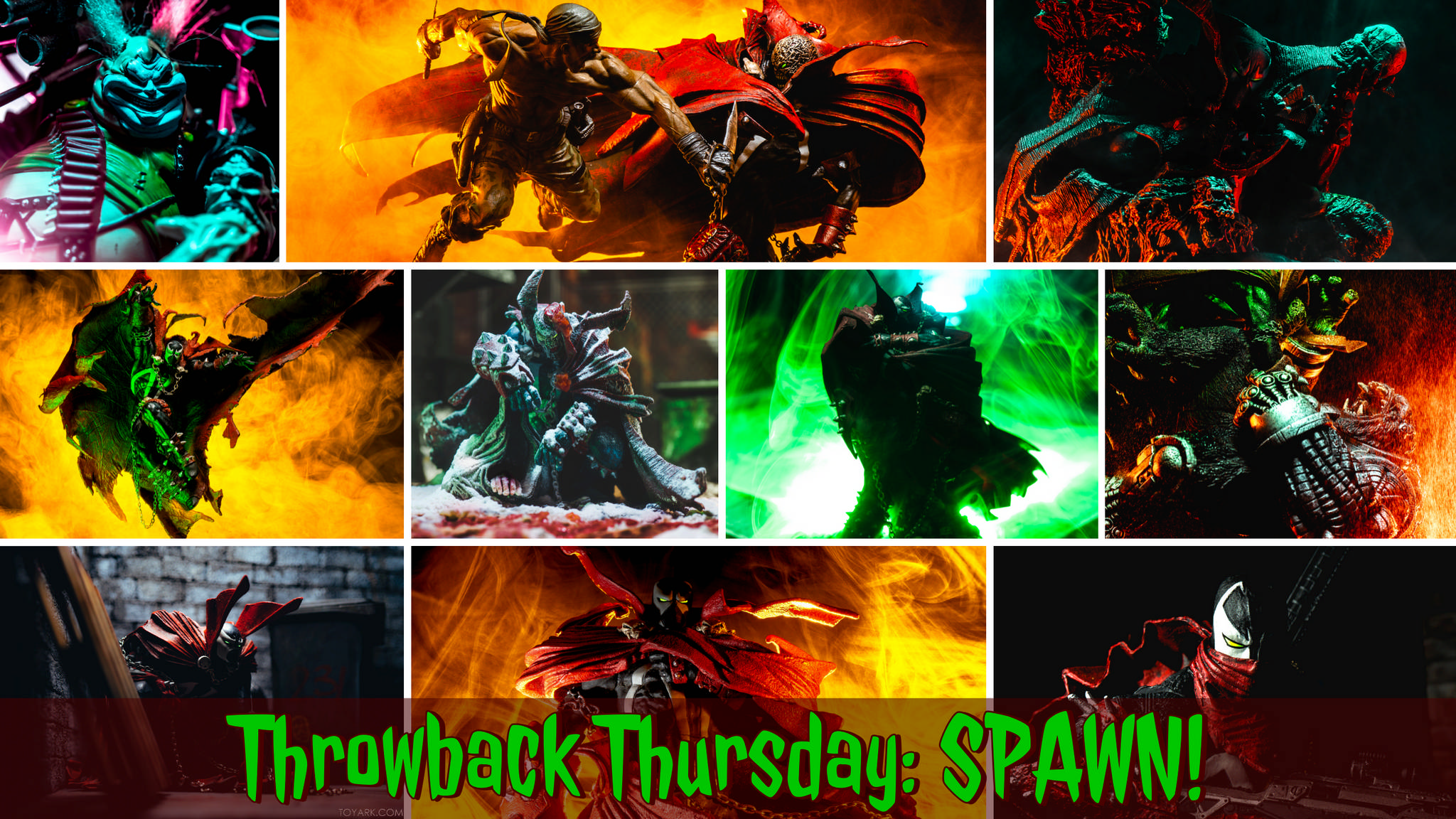 "Mortal Kombat Spawn Figure Signature Edition Signed by Todd Mcfarlane 7/"" LE 1000"