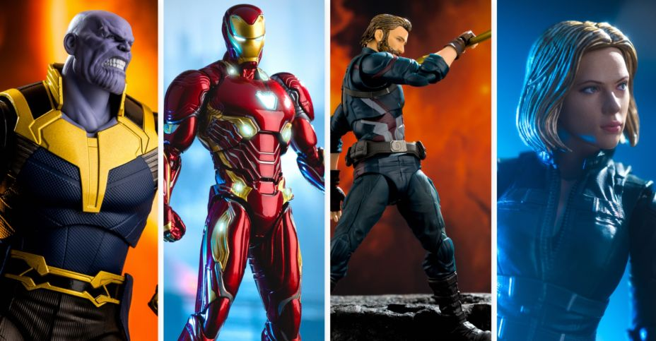 S H Figuarts Infinity Wars Avengers Gallery Captain