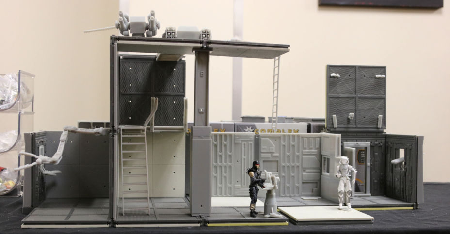 New Diorama Sets - Complex Base Building Systems - Details