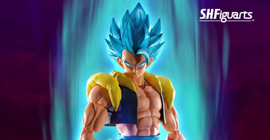 Bandai S.H.Figuarts Broly Movie Super Saiyan God Super Saiyan Gogeta *PRE-SALE*