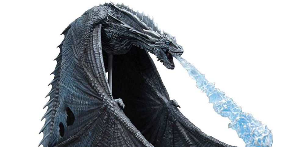 Game of Thrones Viserion Ice Dragon Deluxe Figure by