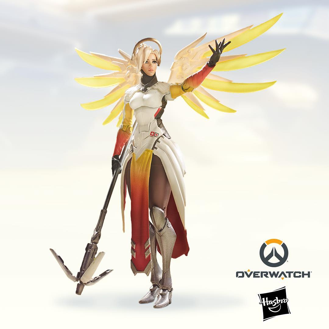Overwatch Ultimates Announced by Hasbro - Mercy Revealed