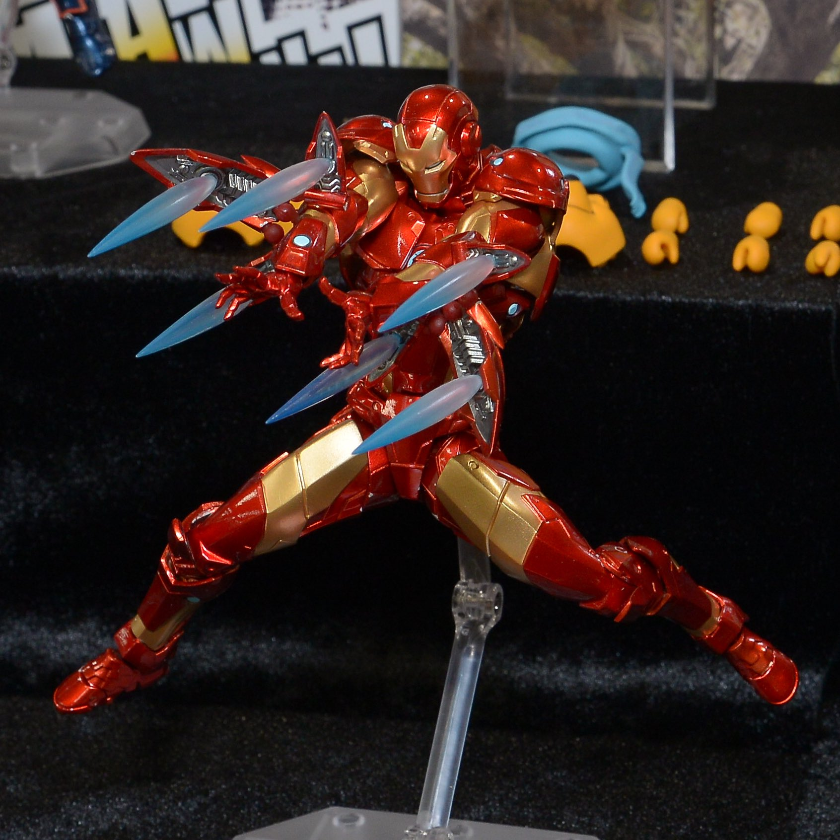 Revoltech Iron Man Mark 37 Bleeding Edge Armor The Toyark News