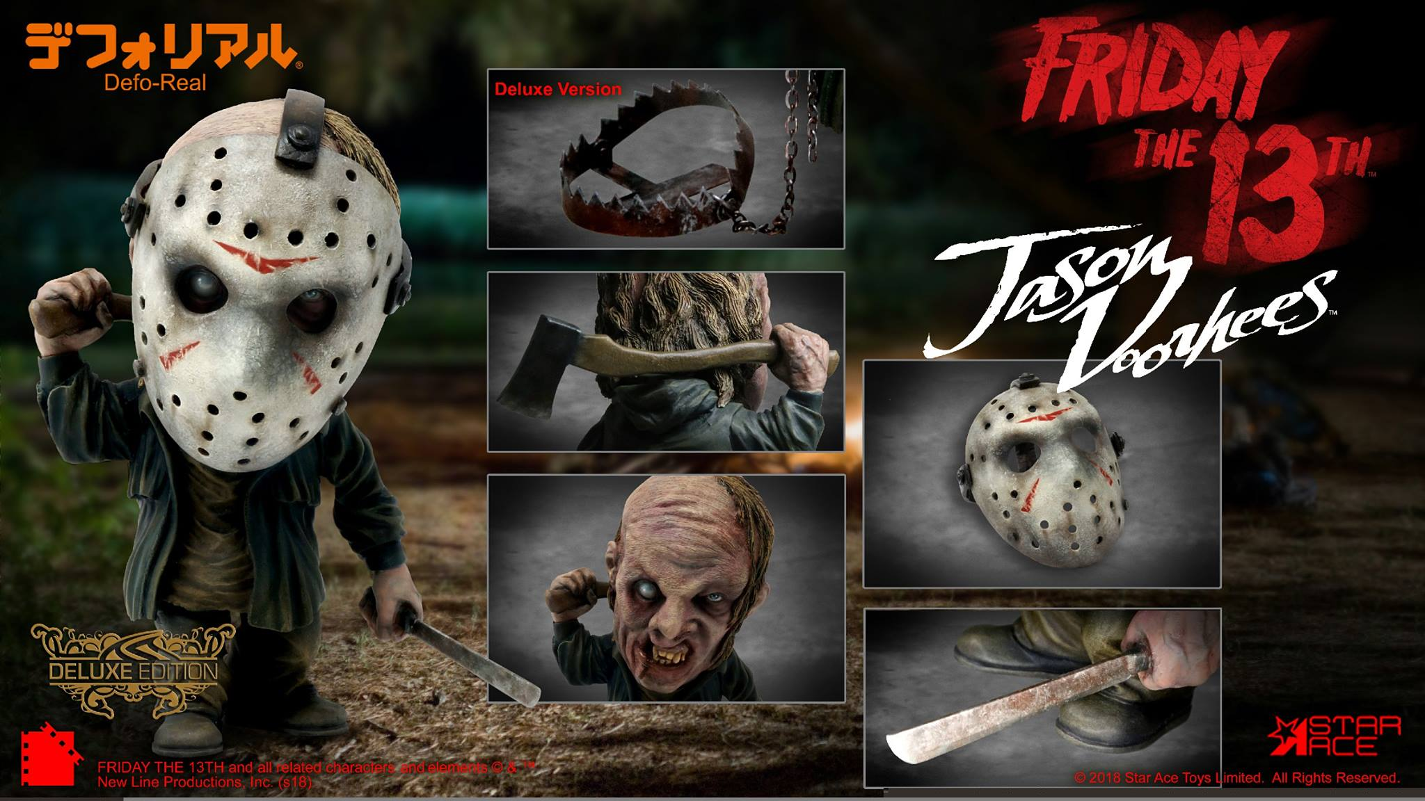 Star Ace Stylized Jason Voorhees Statue Toy Discussion At Circuit Breaker By Bad Moon Toyarkcom Friday The 13th 2009 Defo Real Toys
