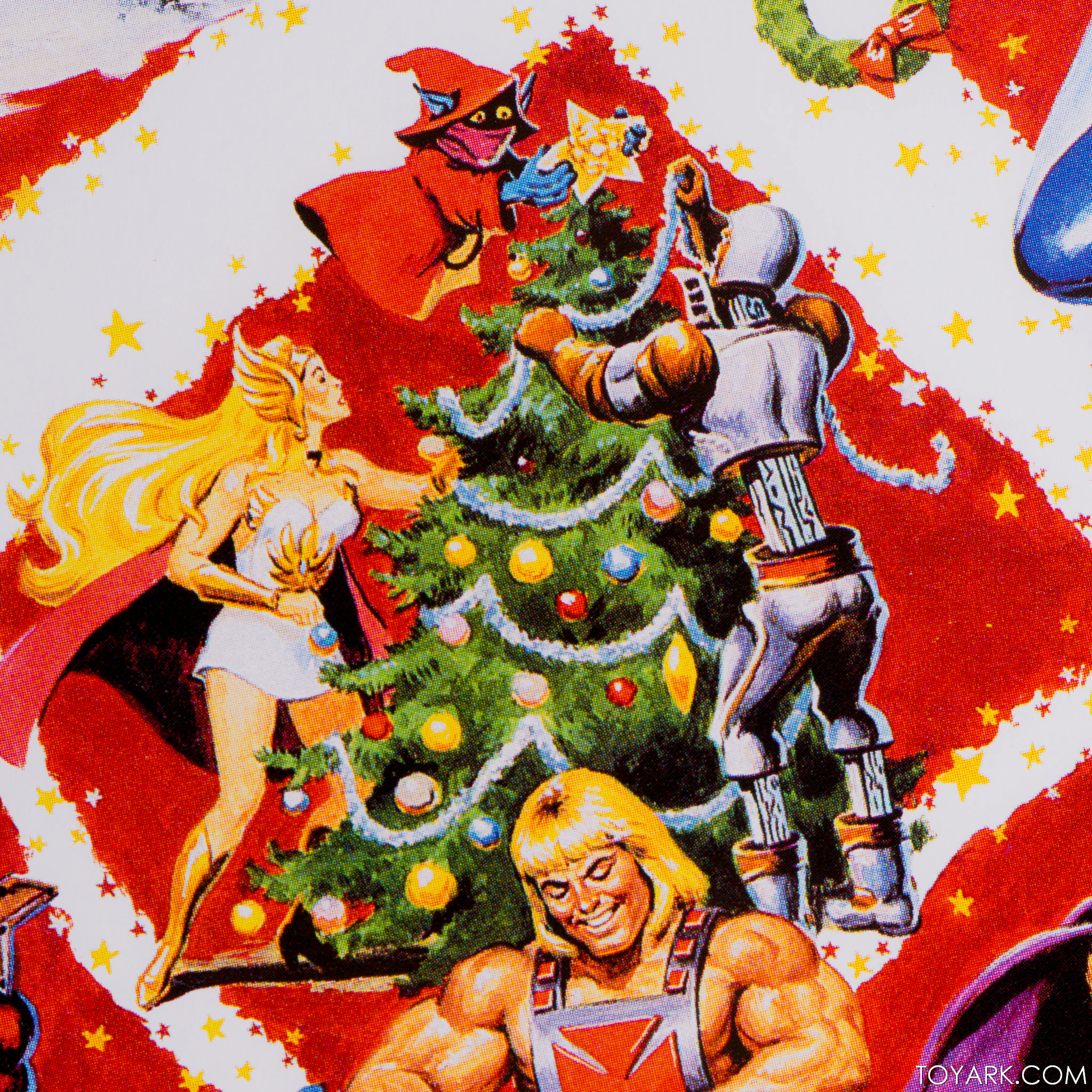 He Man Christmas.Holiday He Man Motuc From Super7 In Hand Images The