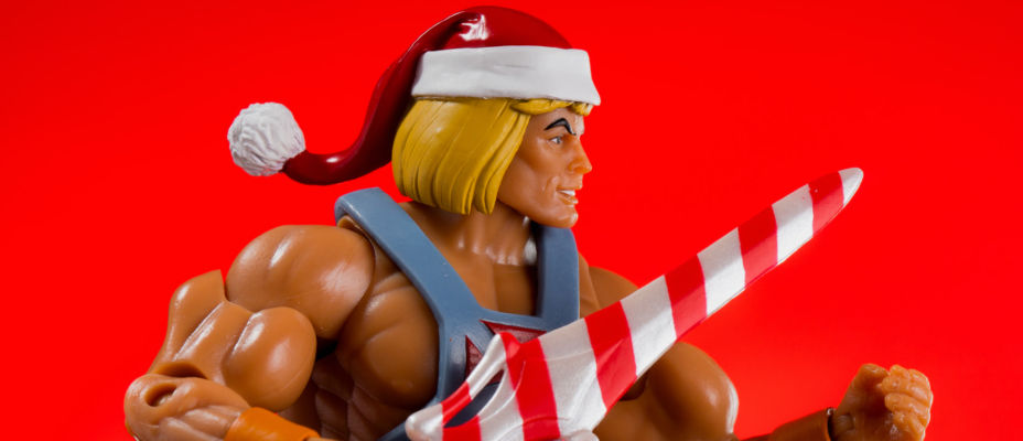 Holiday He-Man MOTUC from Super7 In-Hand Images!