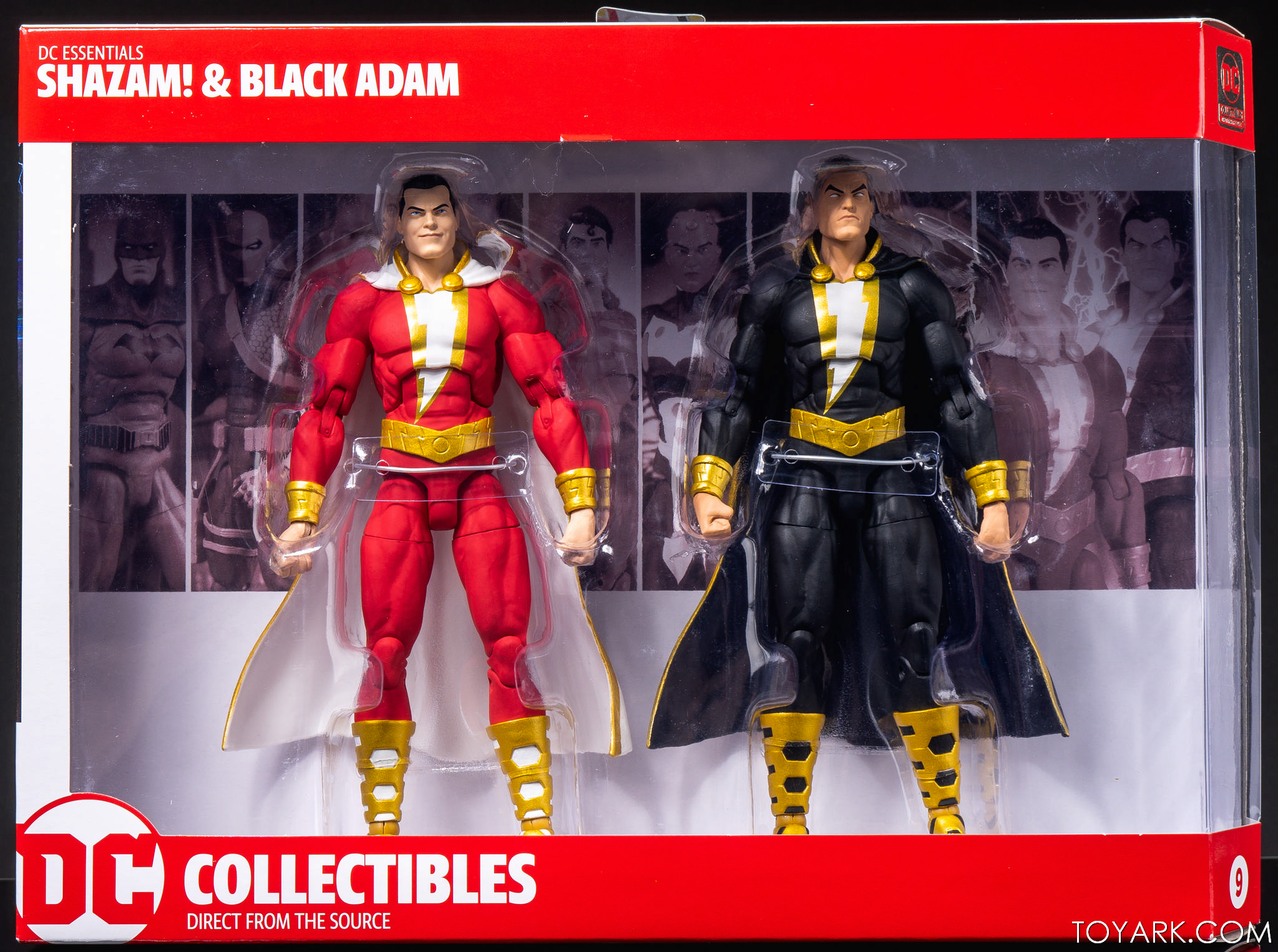DC Collectibles Essential Shazam and Black Adam Action Figure