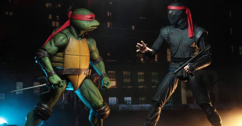 Updated Official Photos Of The TMNT 1990 Movie Foot Soldier By NECA