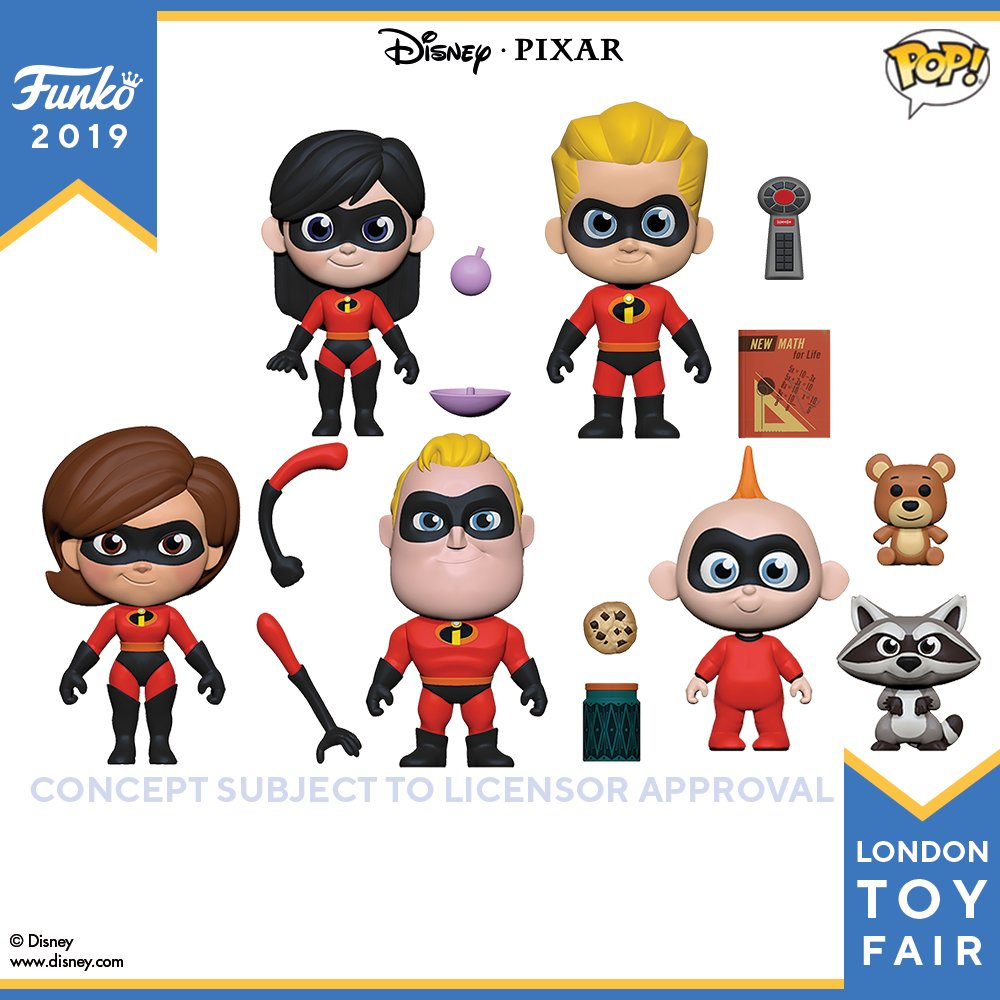Funko Reveals New Figures Pops And More For London Toy