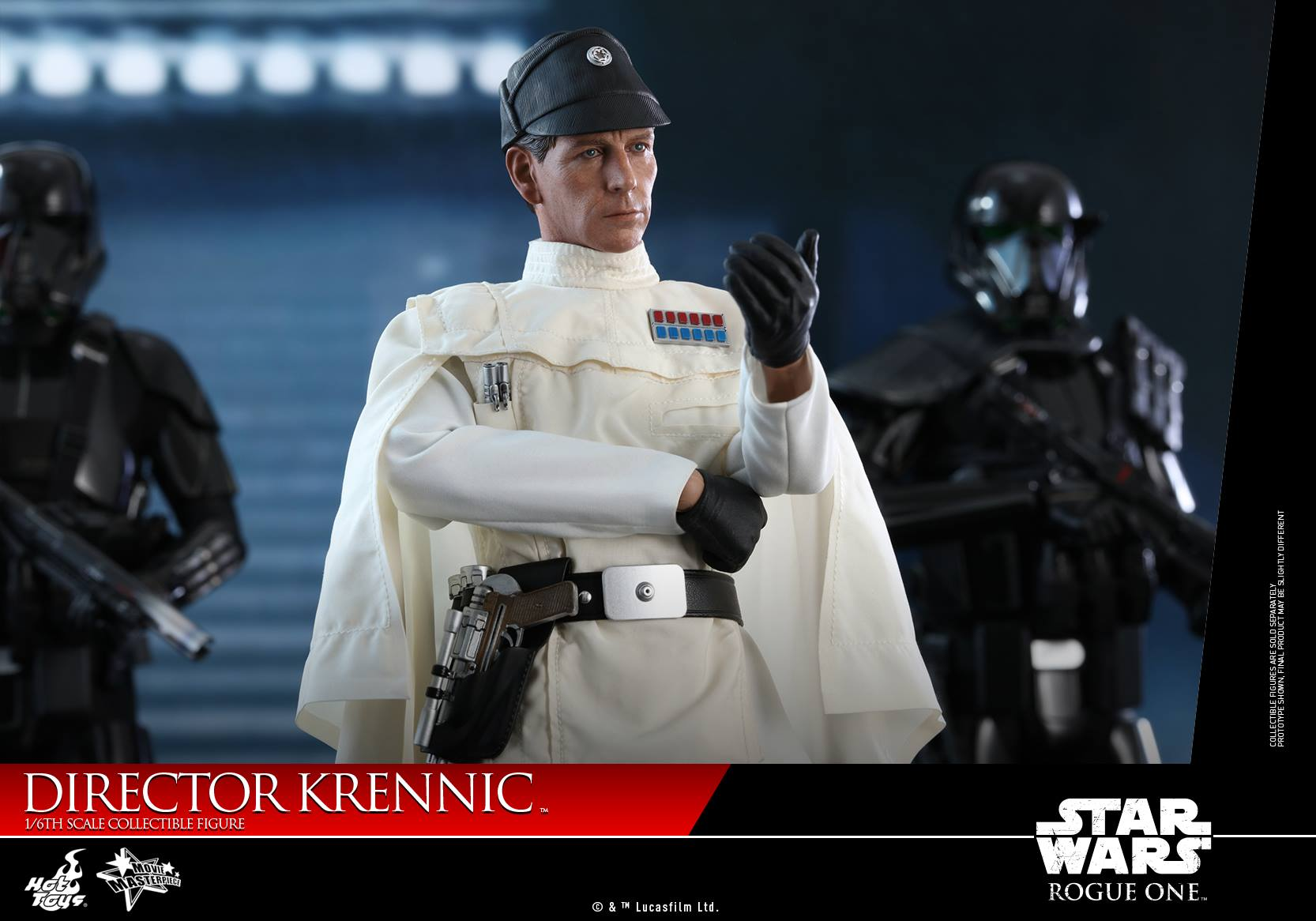 1//6 Scale Action Figure Stand Star Wars Orson Krennic #02