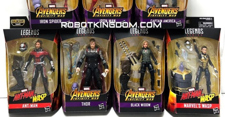 "Marvel Legends Ant-Man WASP Thanos BAF Series WASP Avengers 6/"" Action Figure"