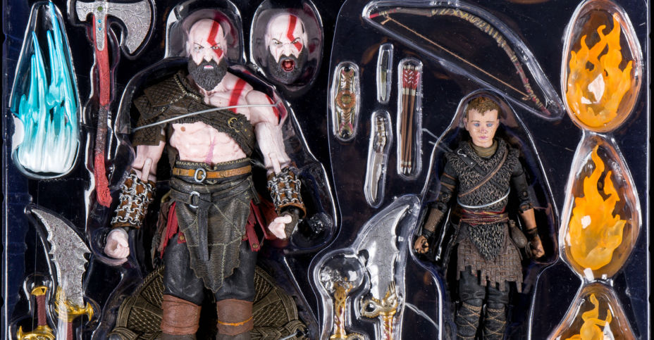 And Available Kratos Of God Atreus Neca Pack 2 War The From Now JFK1Tl5uc3