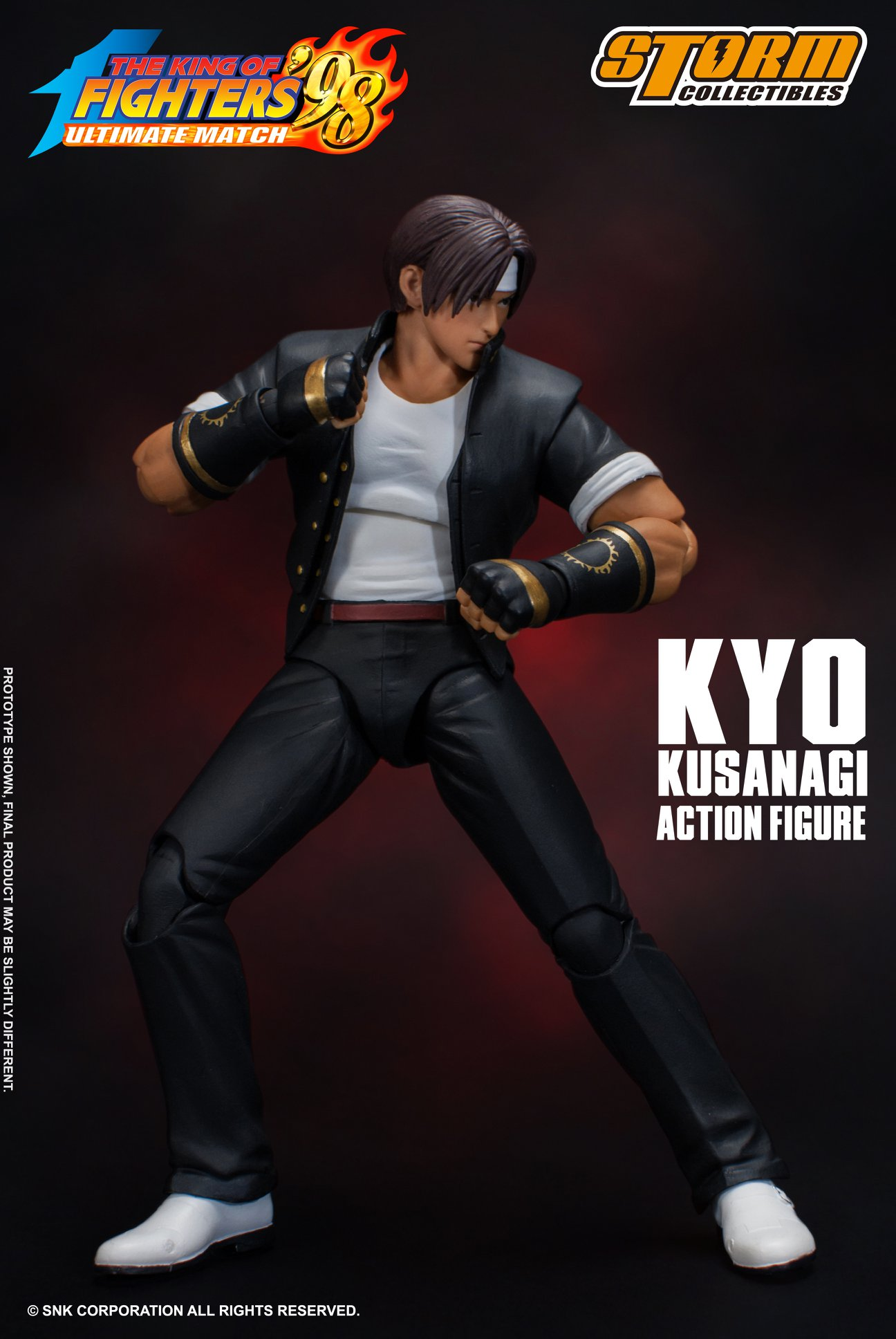 King of Fighters '98 Kyo Figure by Storm Collectibles - The