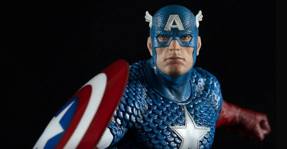 Kotobukiya ARTFX Premier Thor and Captain America Full