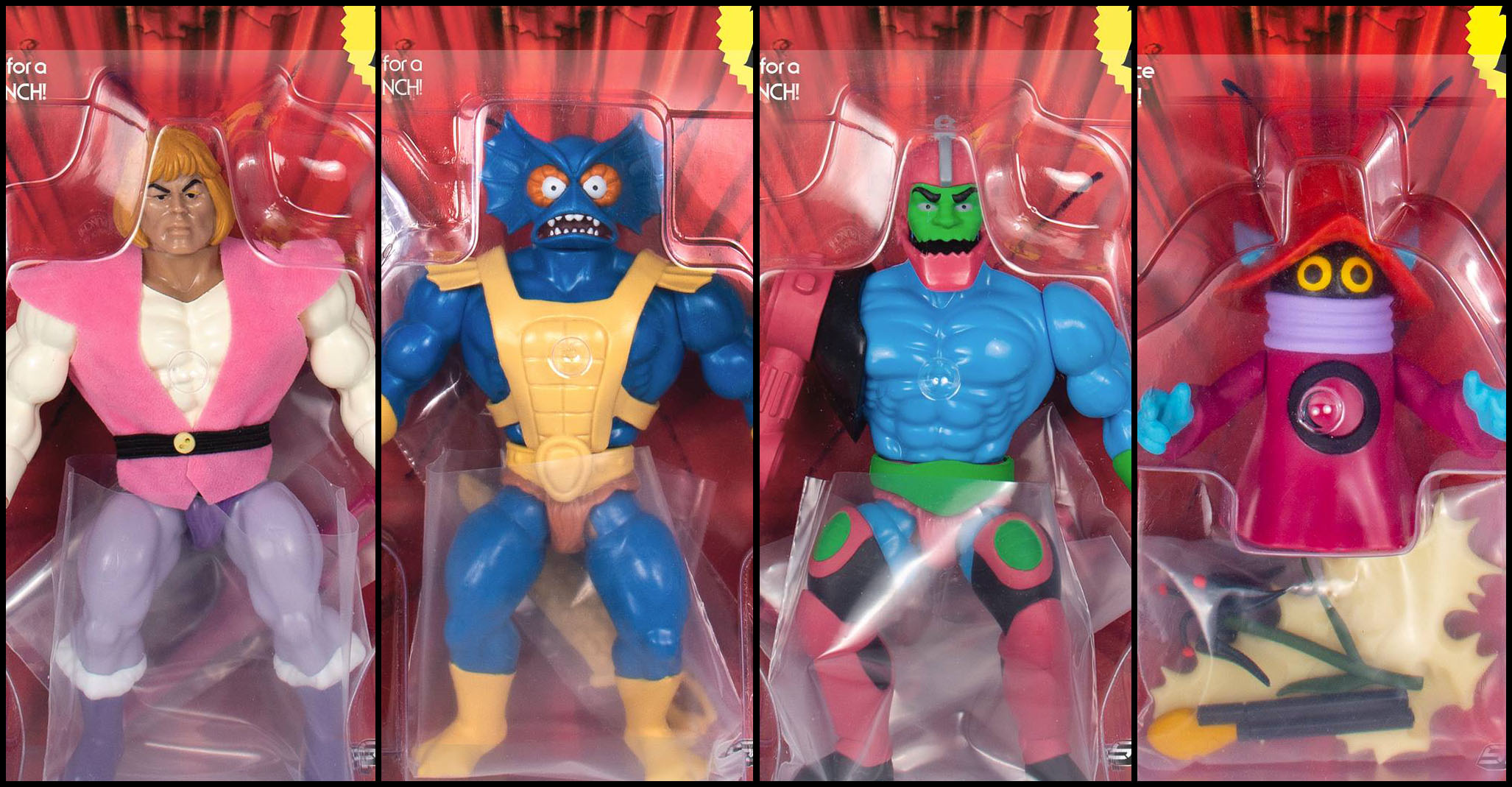 """2019 Super7 ReAction Masters of the Universe SHADOW WEAVER 4/"""" Inch Figure MOC"""