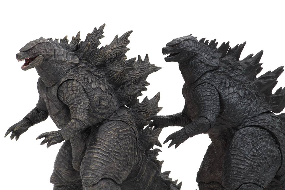 Neca Godzilla King Of The Monsters Side By Side Comparison With 2014 Godzilla The Toyark News