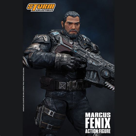 Santiago /& Fenix 3.75-Inch Series 2 Action Figures NECA Gears Of Wars 3 Cole