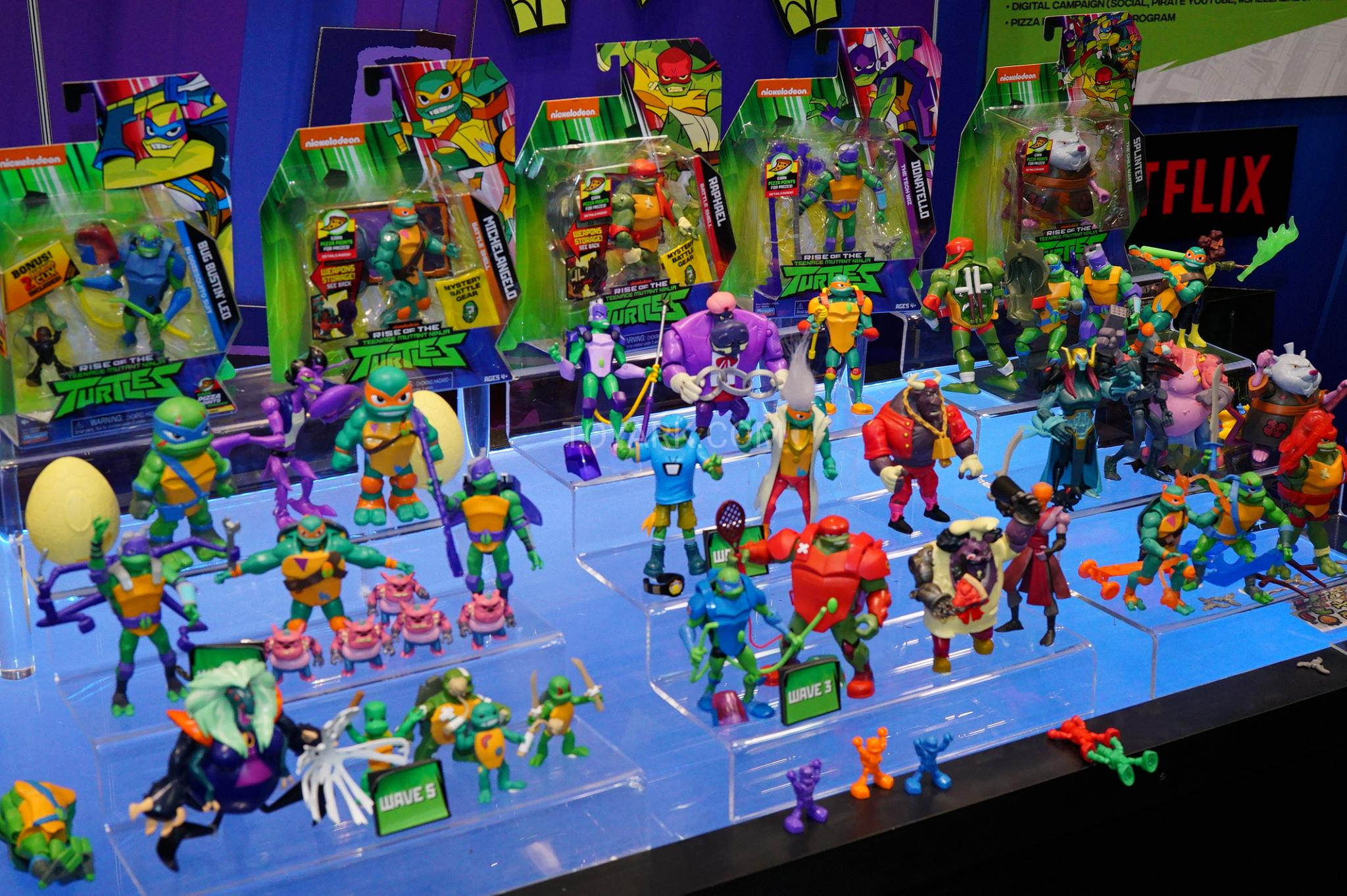 Toy Fair 2019 - Playmates Rise of the TMNT - The Toyark - News