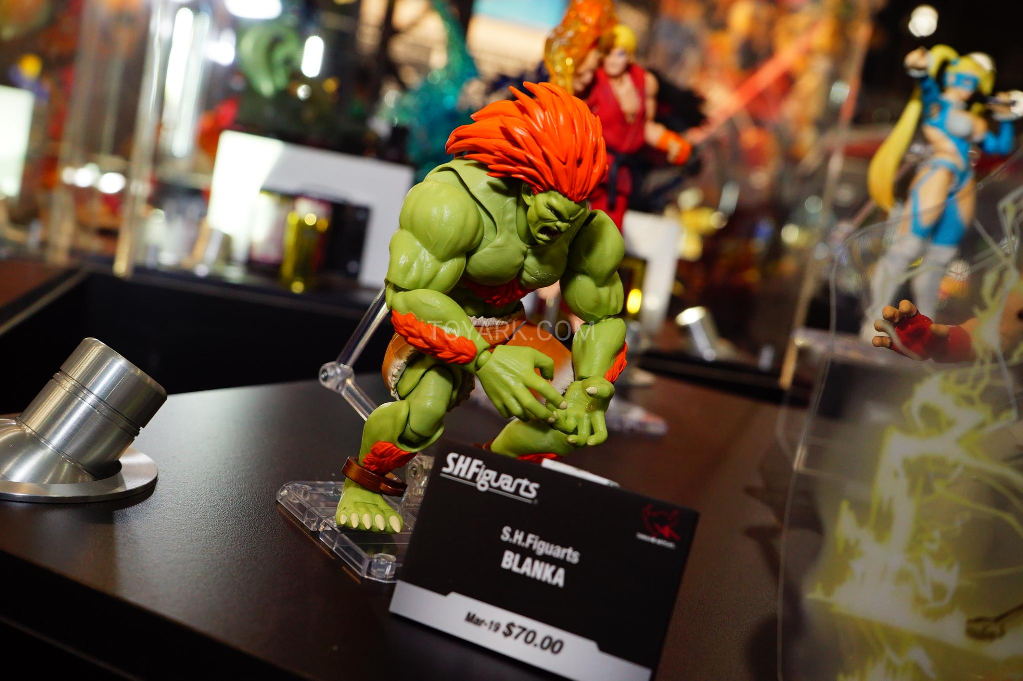 Toy Fair 2019 - Tamashii Nations Street Fighter, Cowboy Bebop, and