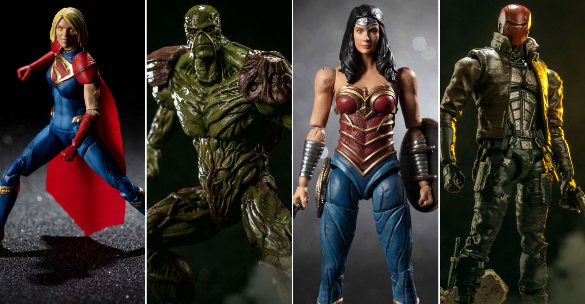 New Injustice 2 - Wonder Woman, Supergirl, Red Hood And Swamp Thing Photos From Hiya -4919