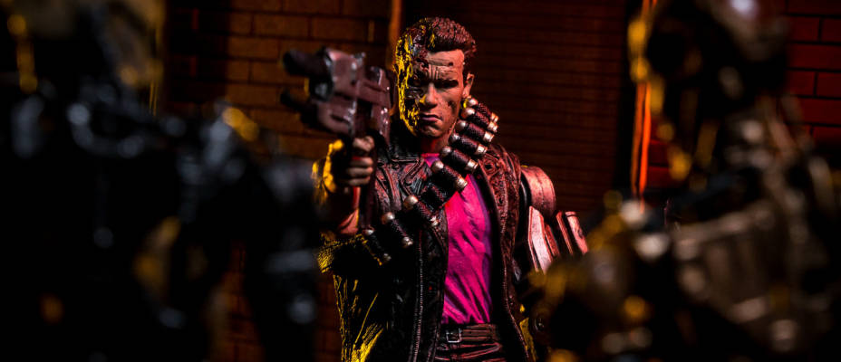 Kenner Inspired Terminator Figure by NECA - Toyark Photo Shoot