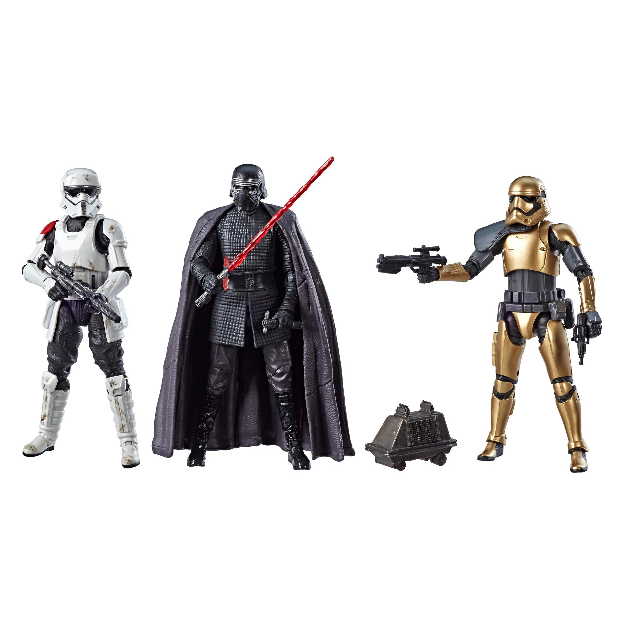 "Star Wars Galaxy/'s Edge Black Series First Order 4 Figure Set 6/"" NEW sealed"
