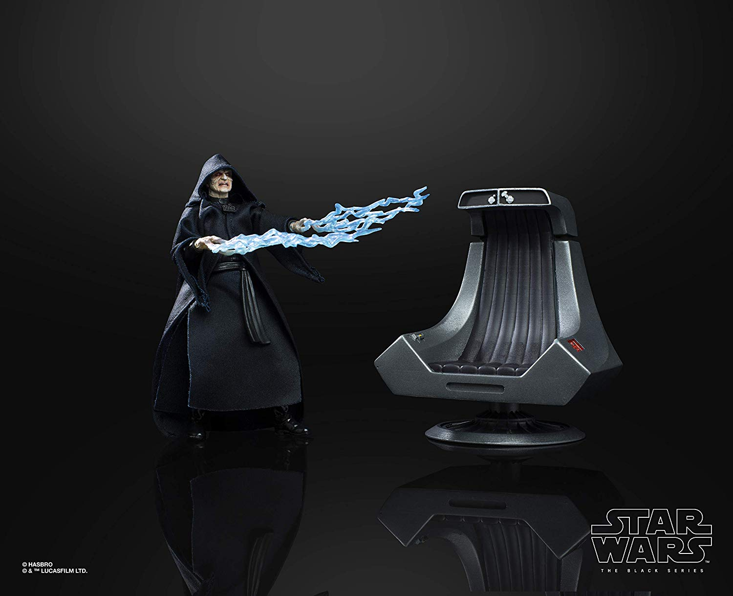 Emperor Palpatine With Throne Star Wars Black Series Exclusive Live The Toyark News