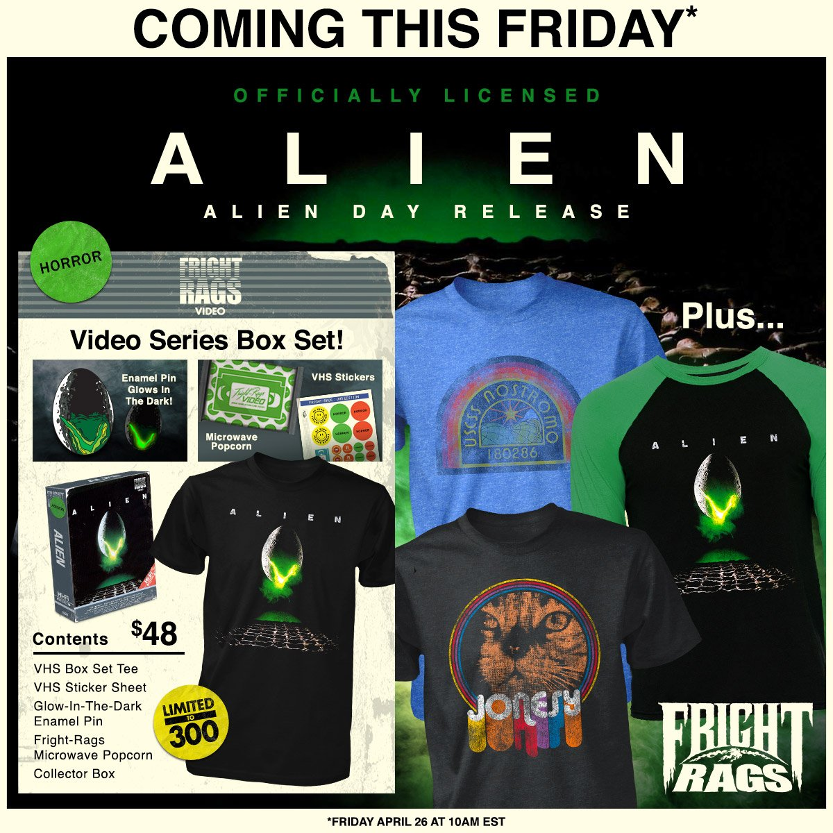 Alien Day 2019 - New Items, Exclusives, Announcements, Sales