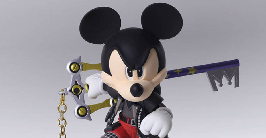Kingdom Hearts 3 Mickey Mouse Bring Arts Figure The Toyark News