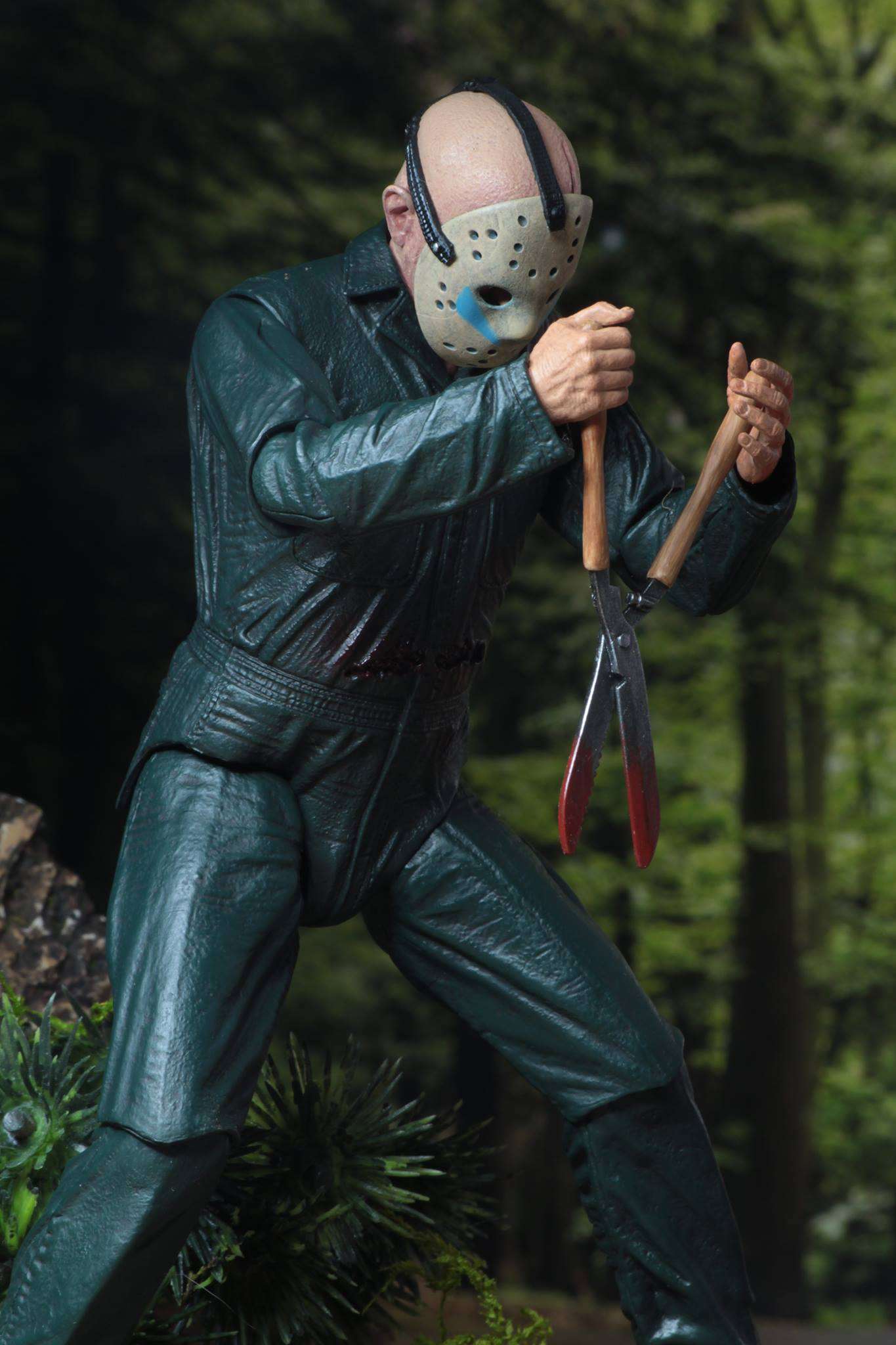 """Friday the 13th Part 5 ULTIMATE Roy burn 7/"""" Action Figure"""