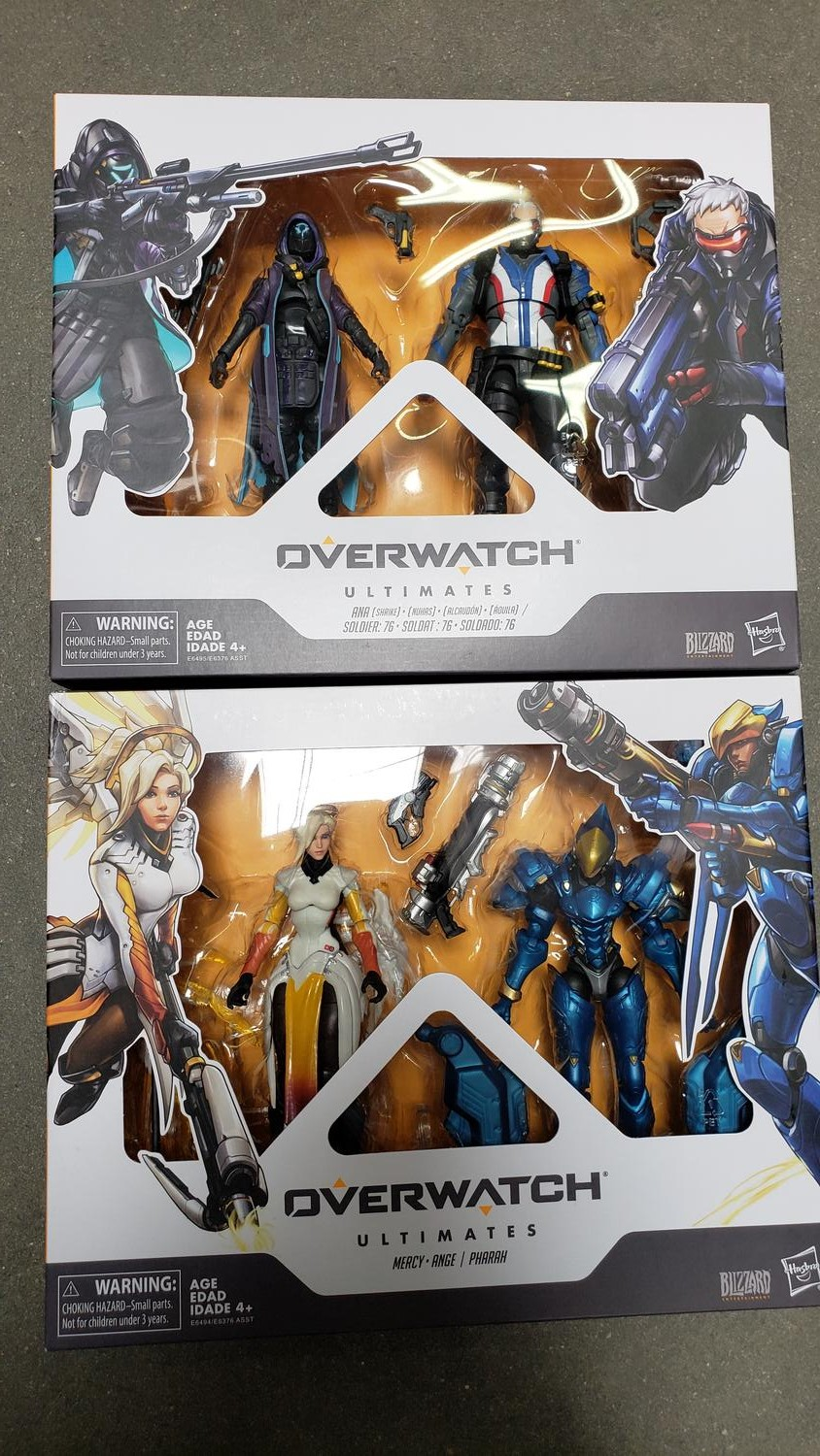 Hasbro Overwatch Figures Hitting Shelves