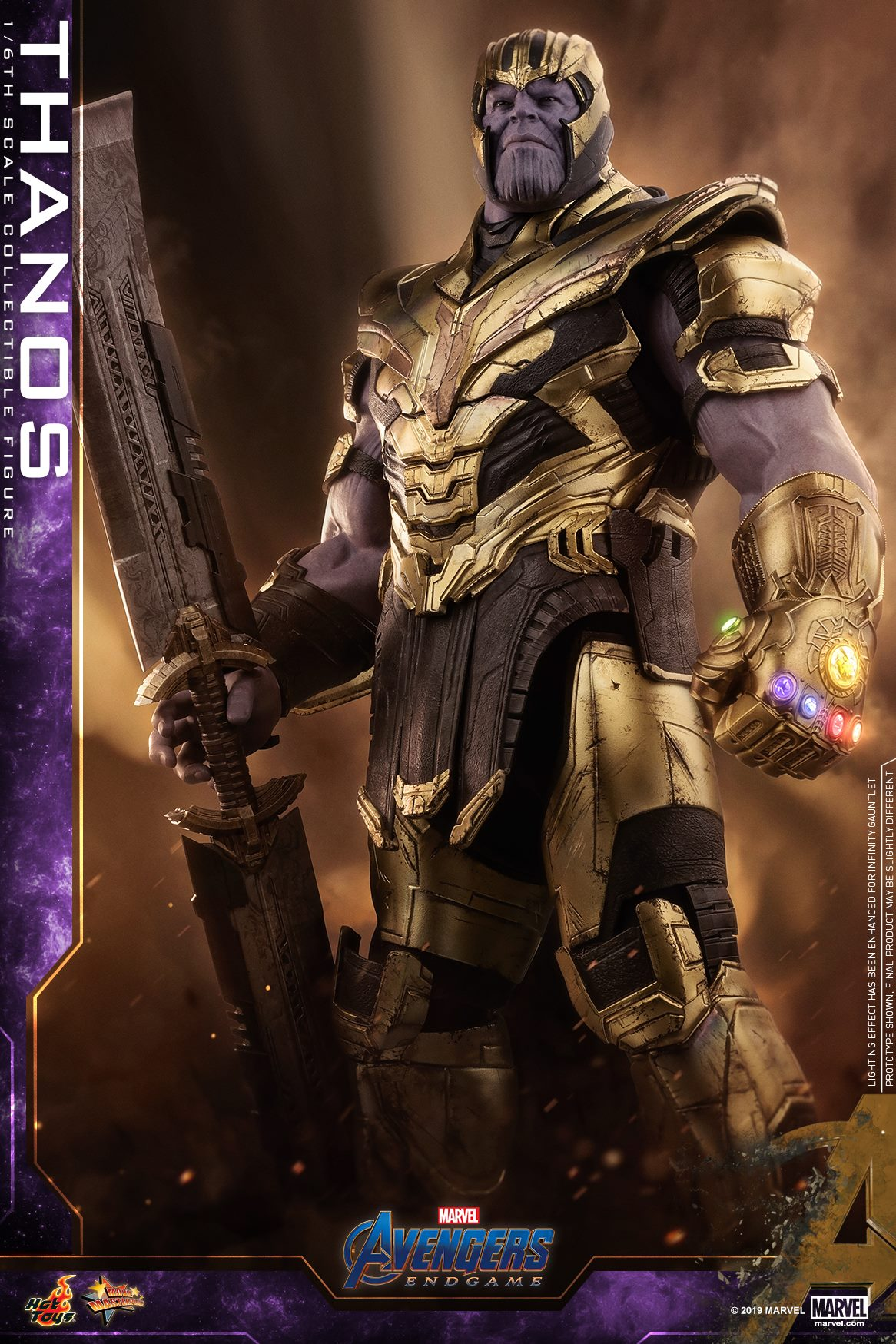 The Avengers: Iron Man Mark LXXXV And Thanos By Hot