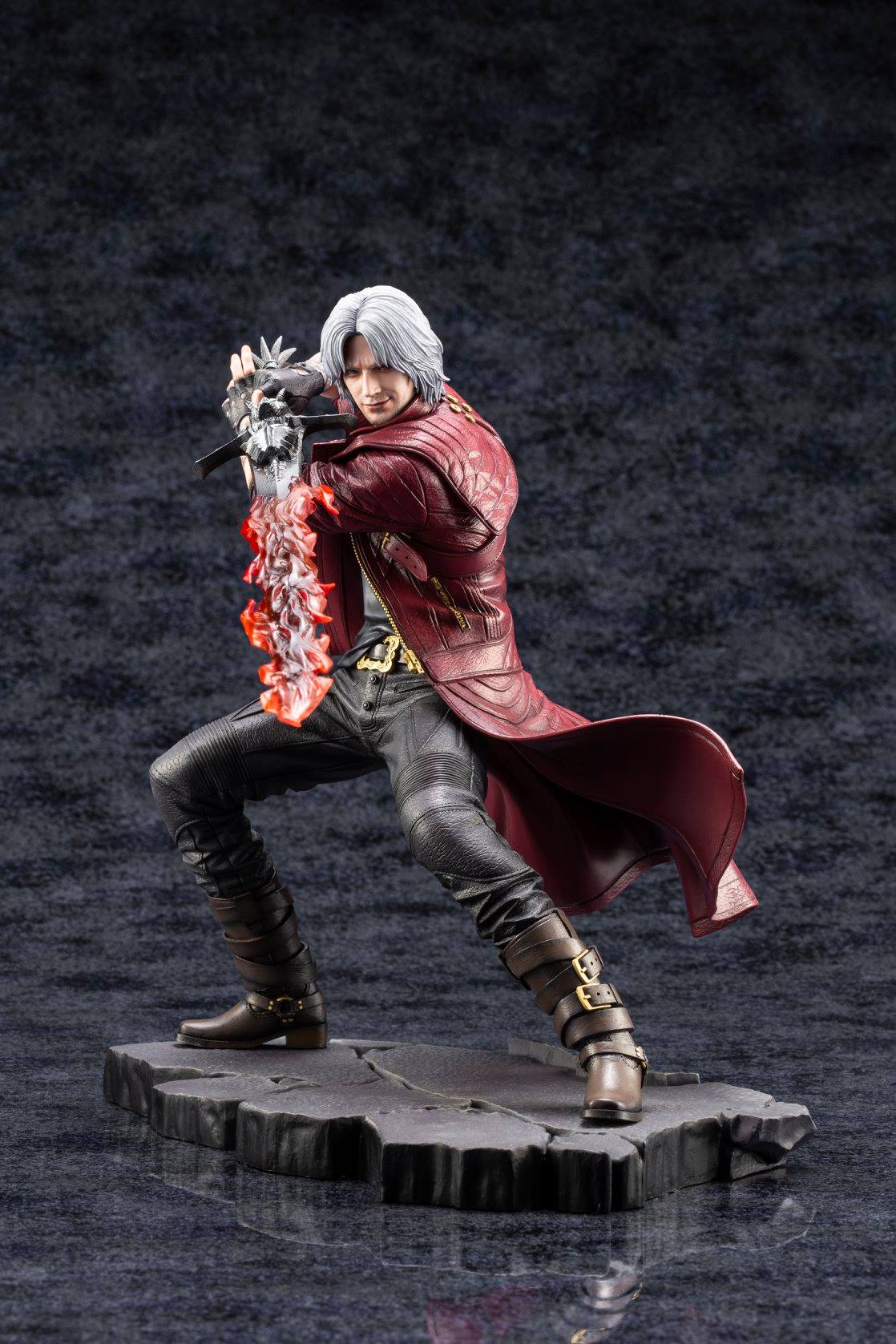 Official Photos Of The Devil May Cry 5 Statues By