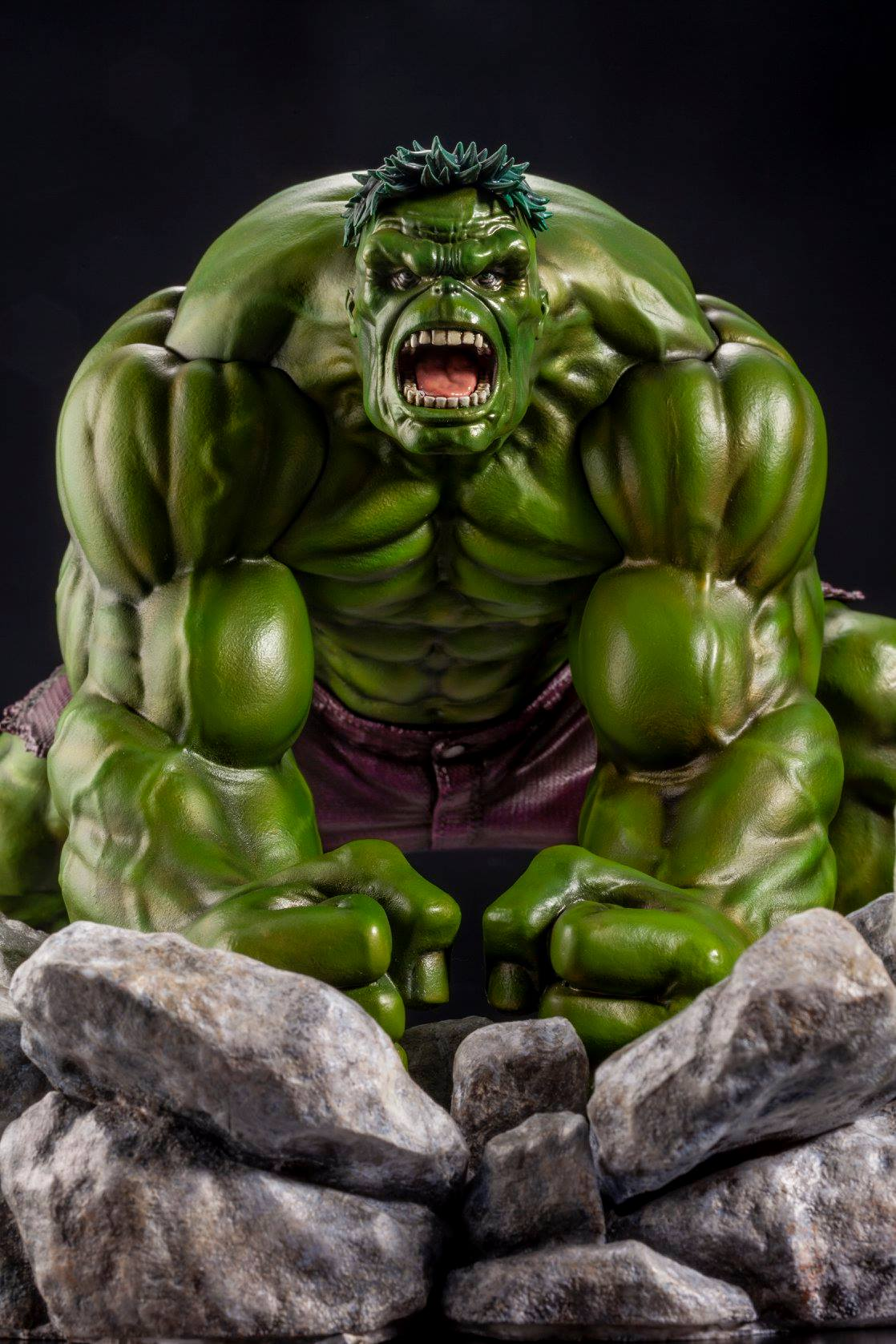 It is an image of Selective Picture of the Hulk