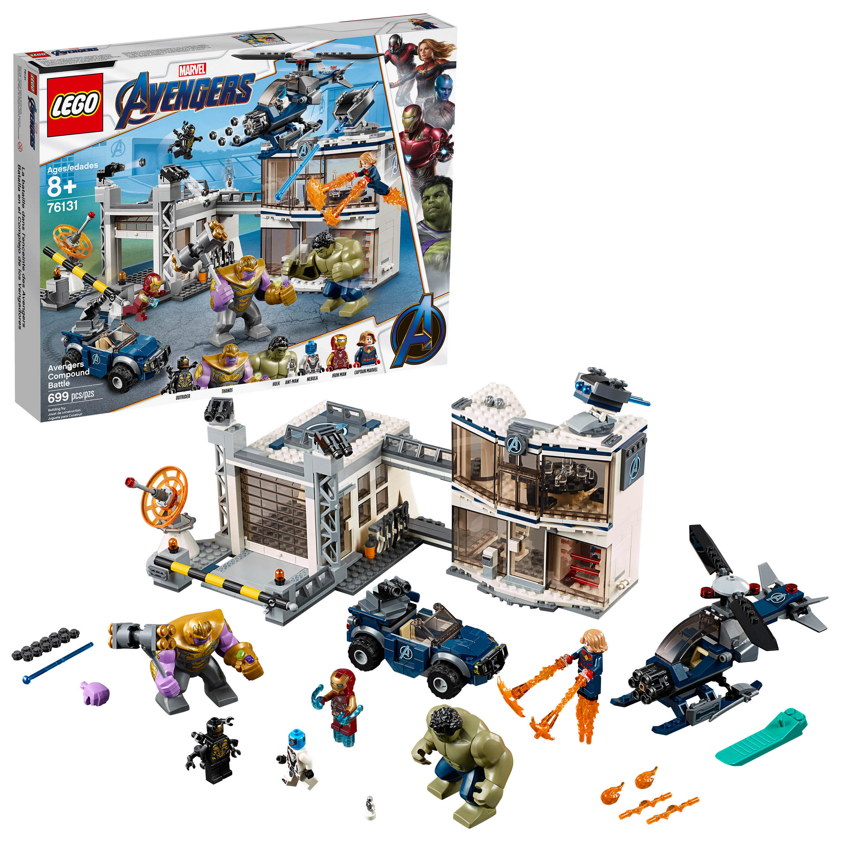 Avengers: Endgame LEGO Sets Officially Revealed - The Toyark - News