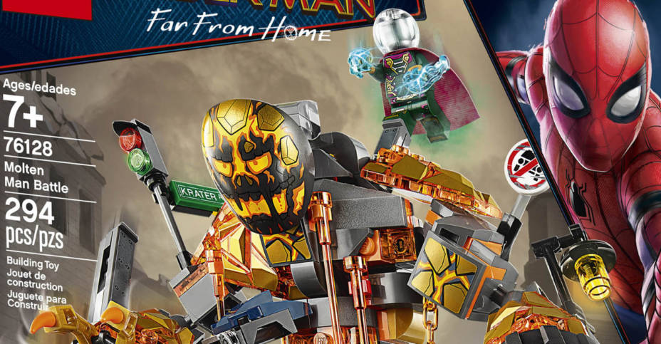 Official From Spider ManFar Home Photos Of The Sets Lego sQrtdCBhx