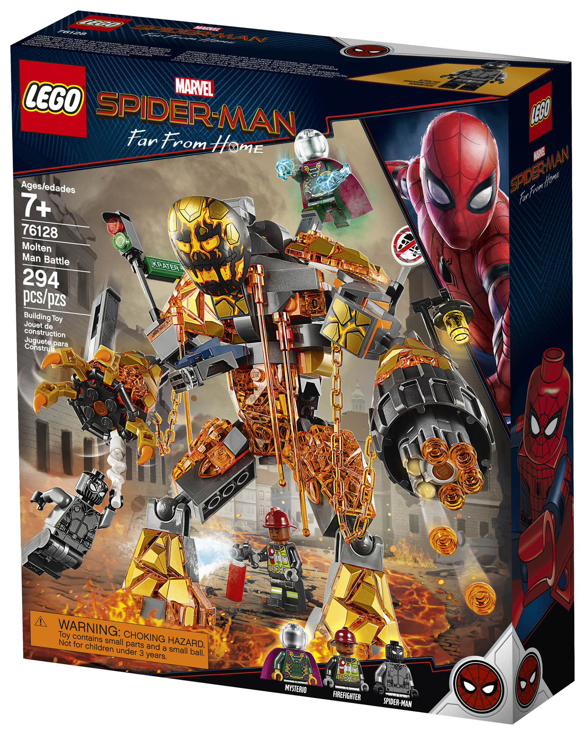 Official Photos Of The Spider Man Far From Home Lego Sets The