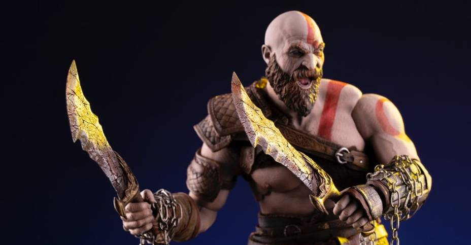 God Of War Kratos 1 6 Scale Figure By Mondo The Toyark