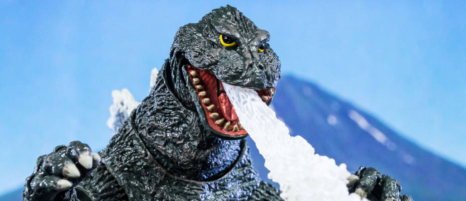 NECA Godzilla from King Kong vs Godzilla 1962 - Toyark Photo Shoot