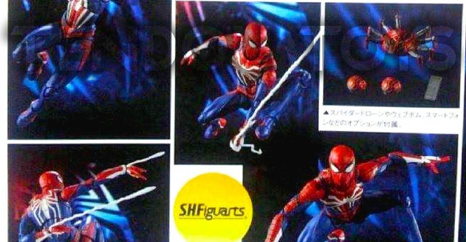 MAFEX Homecoming Spider-Man 1 5 and S H  Figuarts PS4 Spider-Man