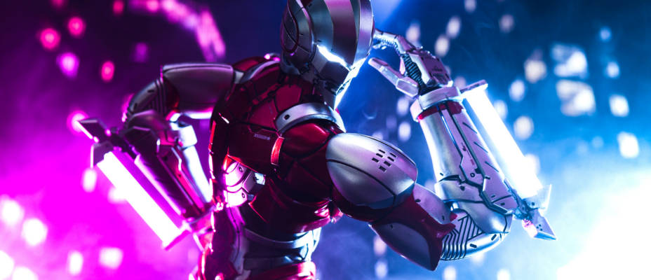 ThreeZero Ultraman Anime Version 1/6th Scale Gallery