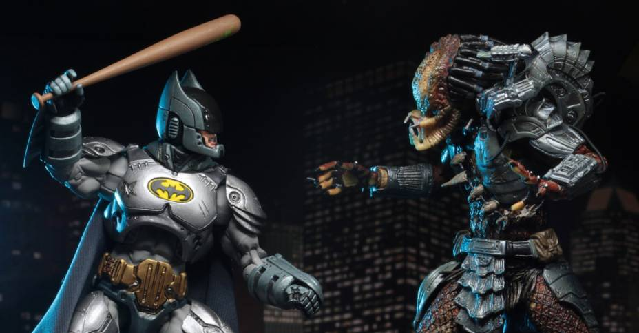 Batman vs predator NECA DC//darkhorse San Diego comic-con 2019 Exclusive 2-Pack Action Figure