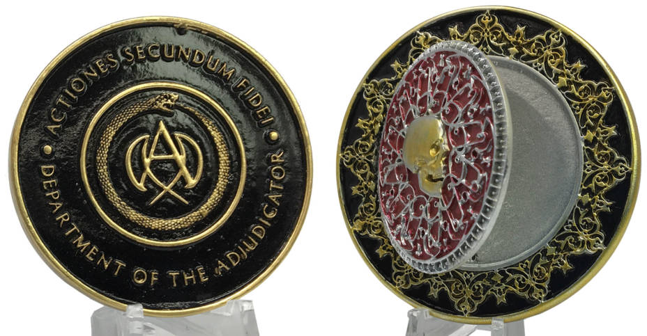 John Wick Chapter 3 Blood Oath Marker And Medallion By Chronicle The Toyark News