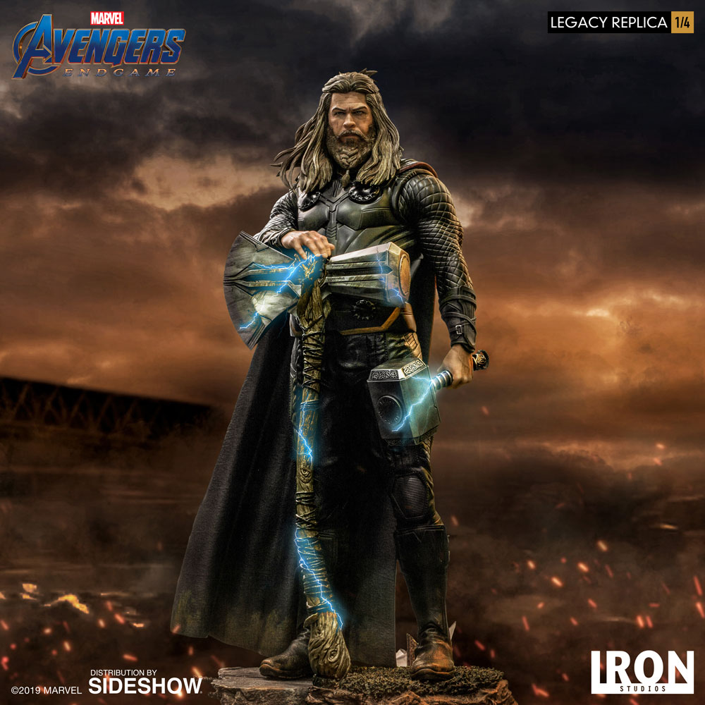 Avengers: Endgame - Thor 1/4 Scale Statue from Sideshow and Iron