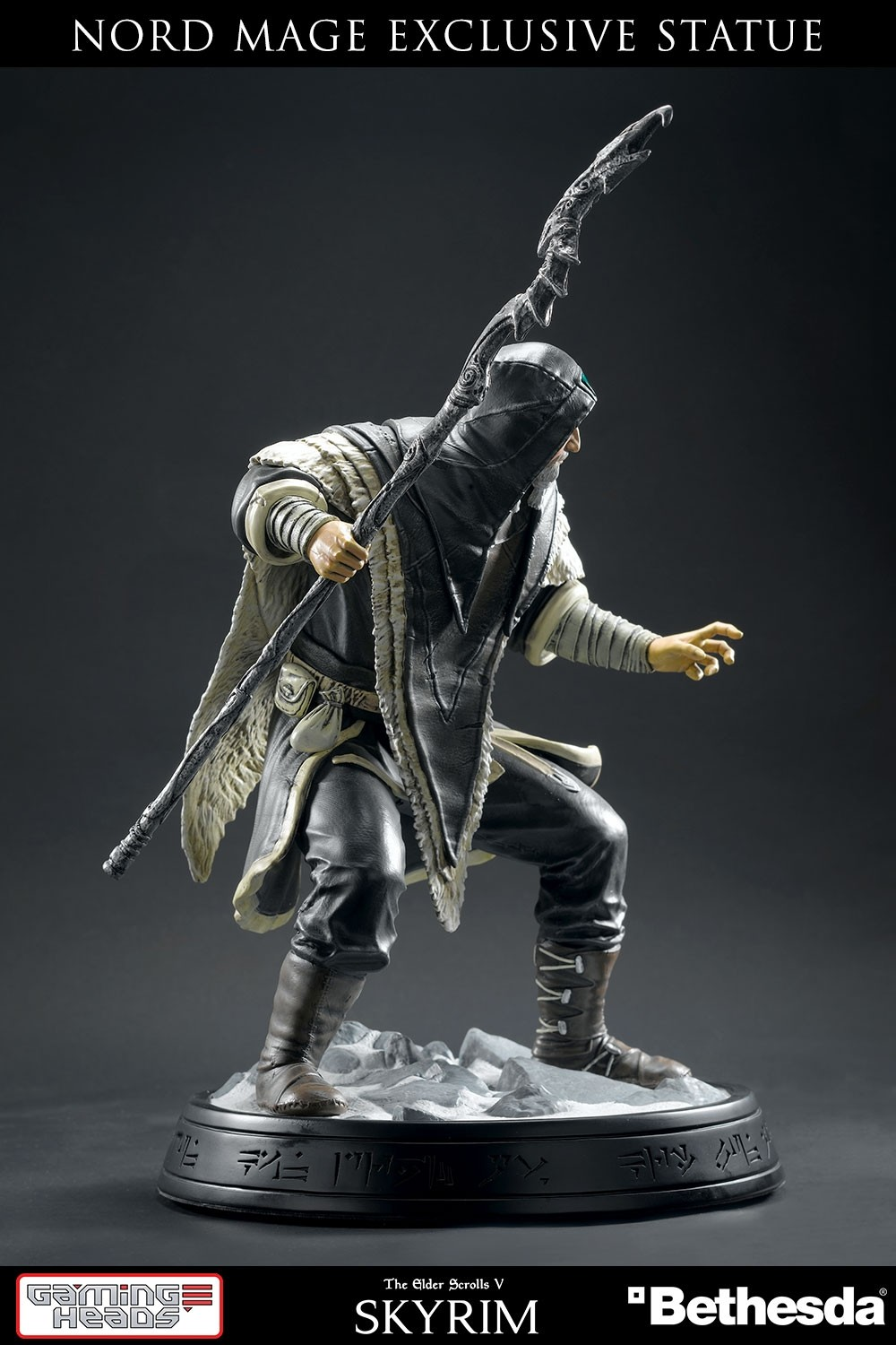 The Elder Scrolls V: Skryim - Nord Mage Statue by Gaming Heads - The