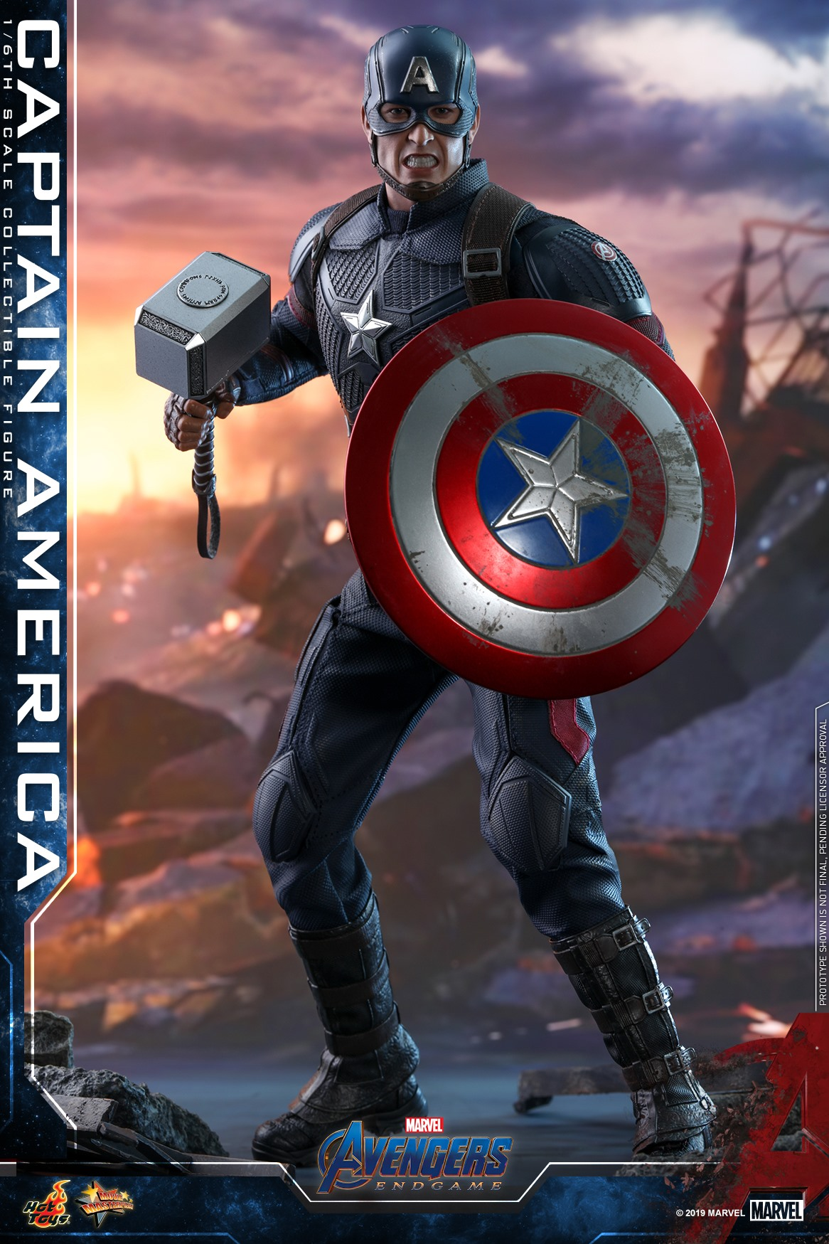 Captain America With Mjolnir Leak