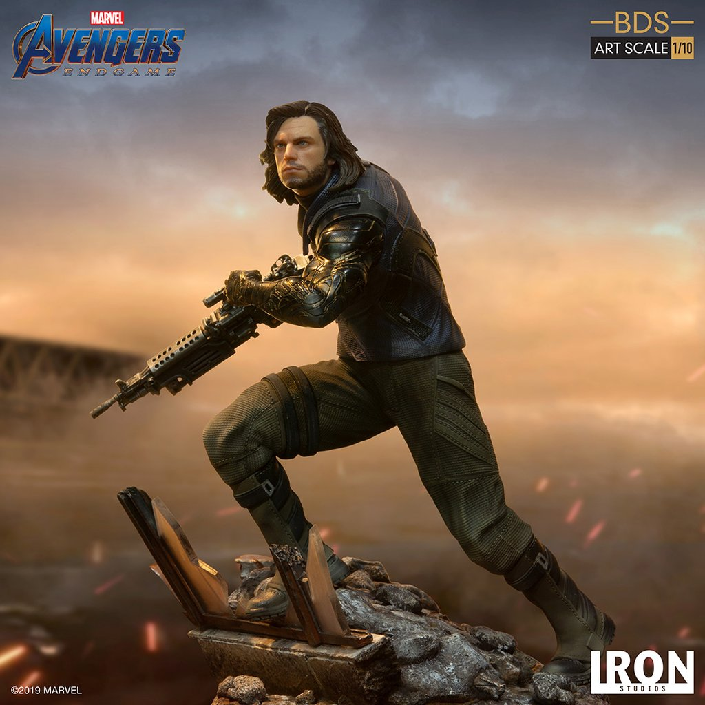 Avengers: Endgame - Winter Soldier BDS Statue by Iron Studios - The Toyark - News